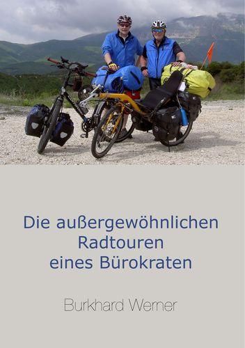 """Buchcover """"Die außergewöhnlichen Radtouren eines Bürokraten"""""""